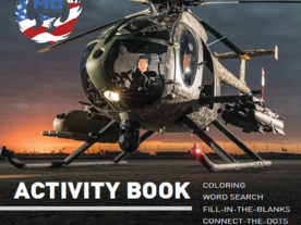 MD Helicopters Activity Book