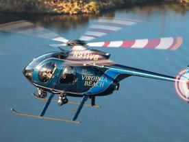 Virginia Beach Police Welcome New MD 530F