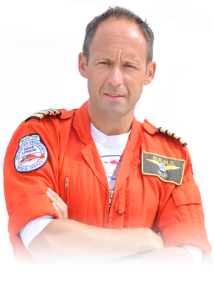 Captain Neil Jeffers, Chief Pilot London's Air Ambulance